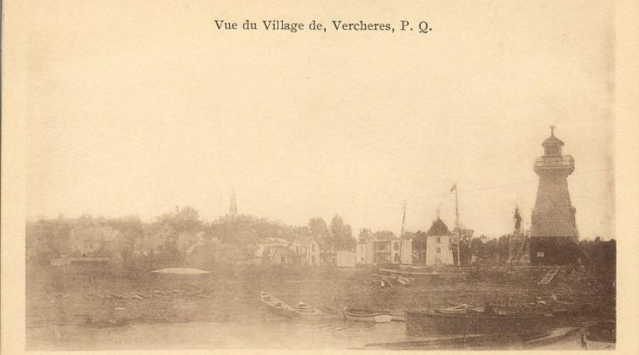 Vue du village de Verchères
