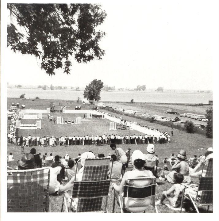 Concours hippique au parc des Pionniers