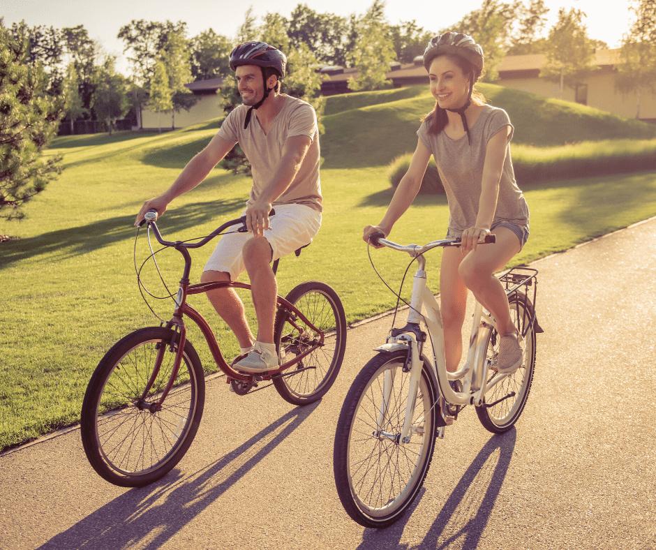 Route verte - Verchères à vélo